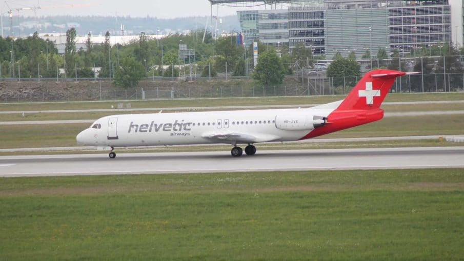HBJVE Helvetic Airways